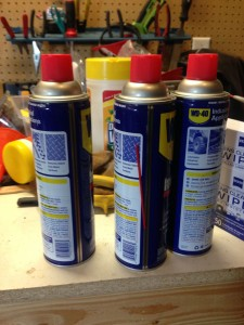Three WD-40